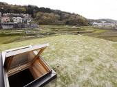 東生駒の草屋根の家