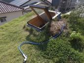 草屋根のまつばさん